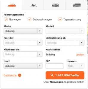 Mobile.de Duitse autosite